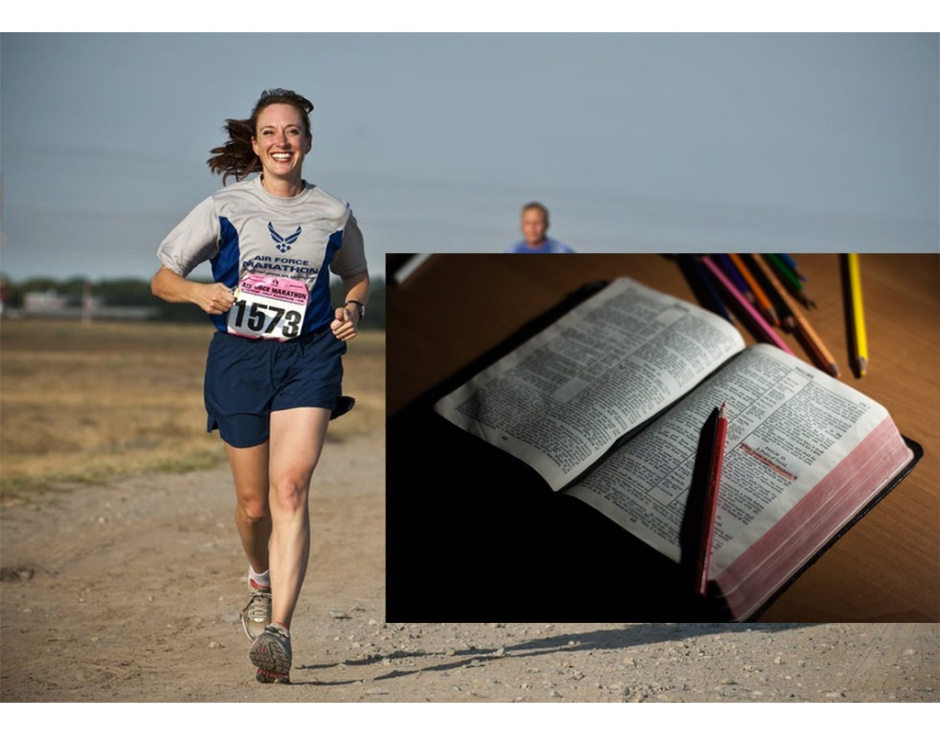 devotions, Bible, working out